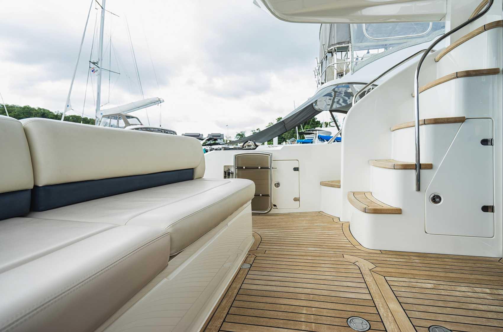 Luxury Yacht in Italian Leather