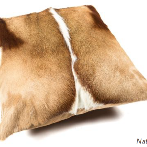 Springbok Cushion - Natural