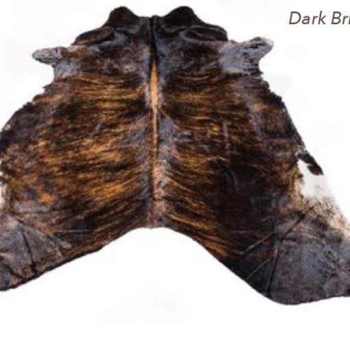 Cowhide Rug - Dark Brindle