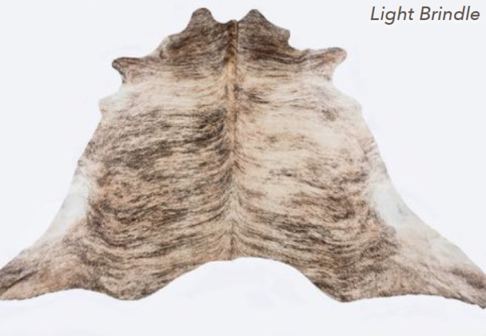 Cowhide Rug - Light Brindle
