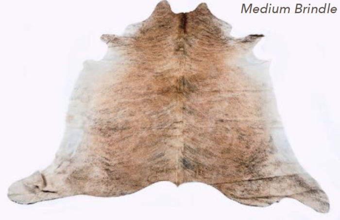 Cowhide Rug - Medium Brindle