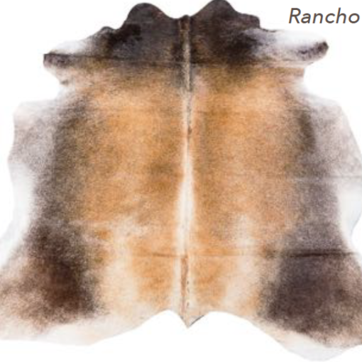 Cowhide Rug - Rancho Light