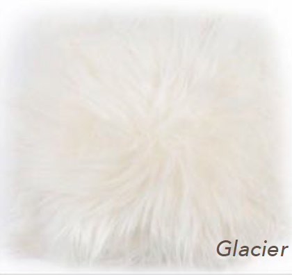 Icelandic Long Hair Cushion - Glacier