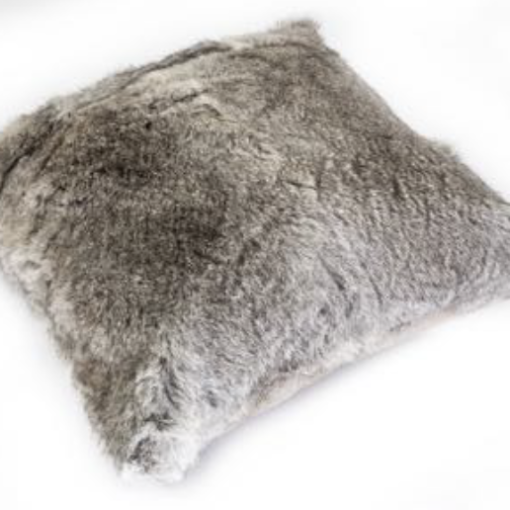 Rabbit Cushion - Grey
