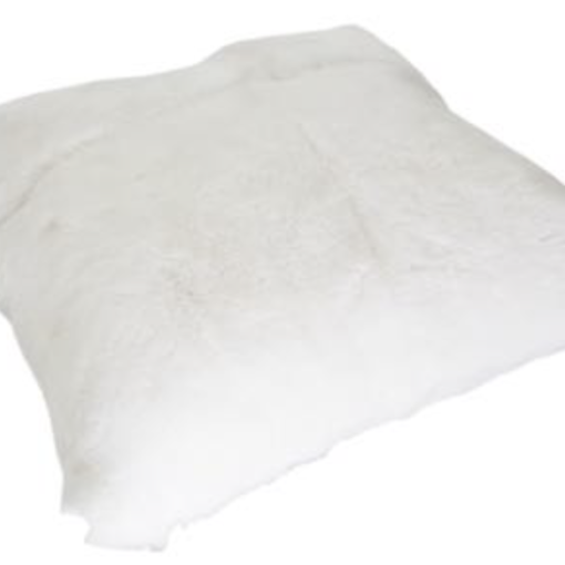 Rabbit Cushion - White