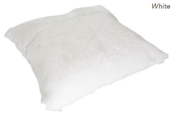 Rabbit Cushion - White