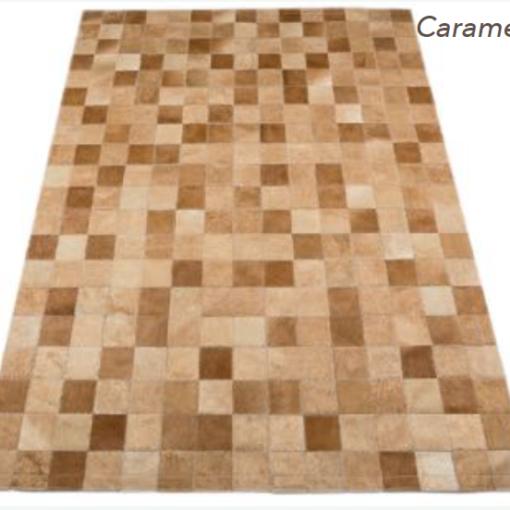 Patchwork Rug - Caramel