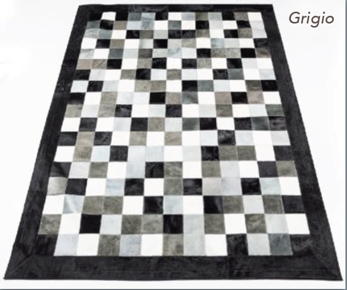Patchwork Rug - Grigio