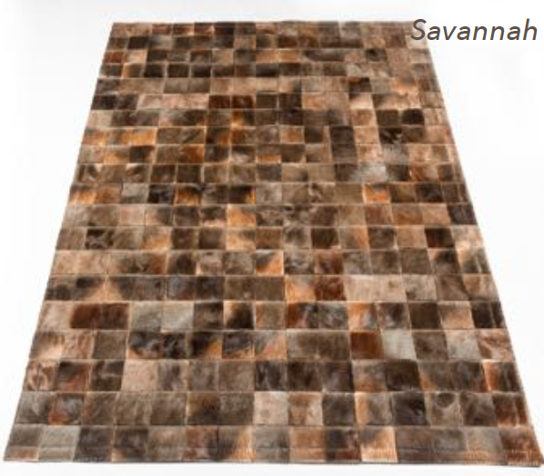 Patchwork Rug - Savannah