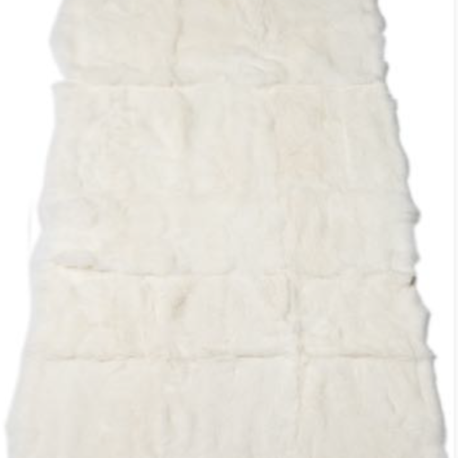 Rabbit Blanket - White