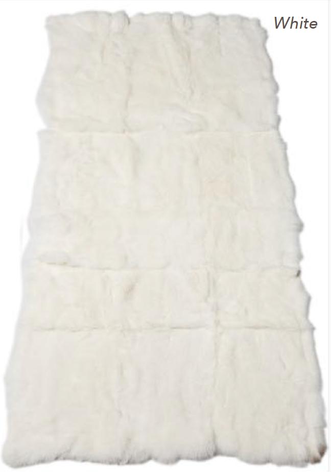 Rabbit Blanket - White