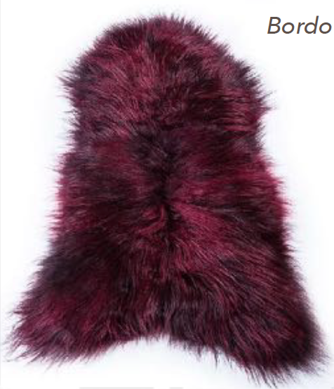 Icelandic Sheepskin - Bordo