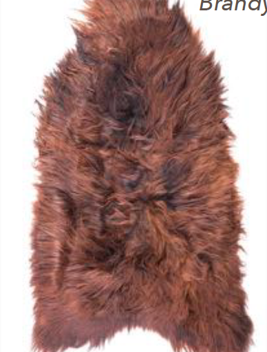 Icelandic Sheepskin - Brandy