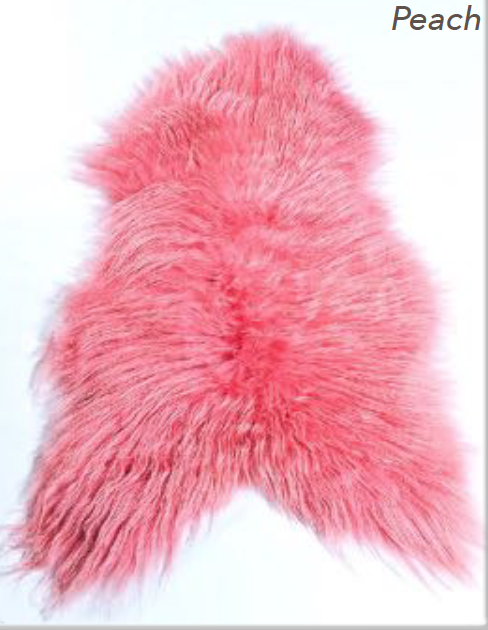 Icelandic Sheepskin - Peach