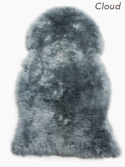 Merino Sheepskin Rug - Cloud (Large)