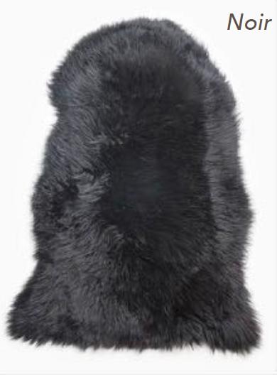 Merino Sheepskin Rug - Noir (Large)