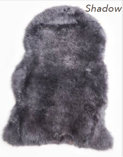 Merino Sheepskin Rug - Shadow (Large)