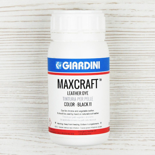 Maxcraft Leather Dye Black