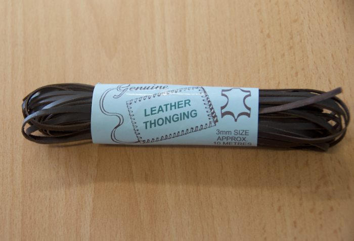 Leather Lacing - Dark Brown