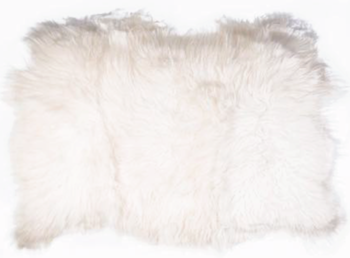 Icelandic Sheepskin ~ Triple Hide - Glacier