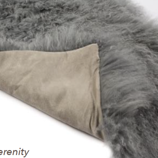 Mongolian Throw or Blanket - Serenity