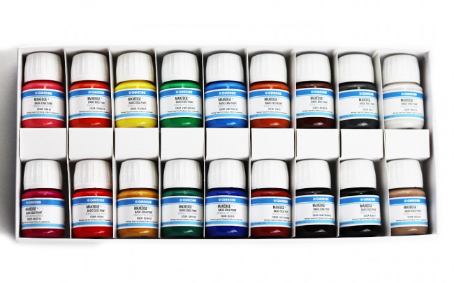 Basic Colour Edge Paint Set