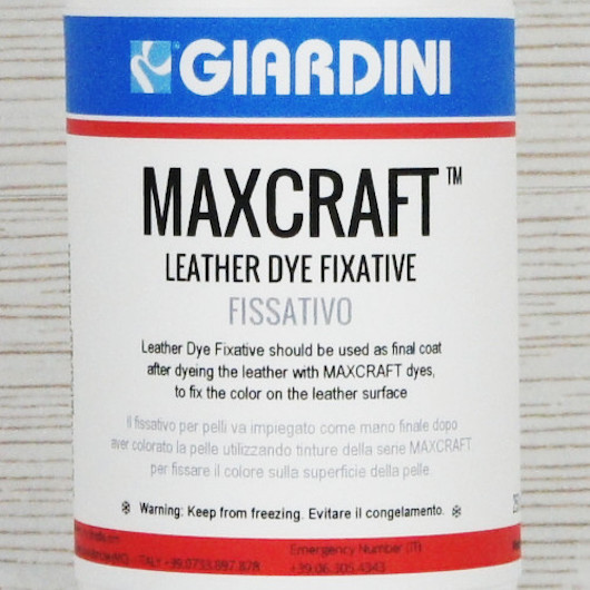 Maxcraft Leather Dye Fixative