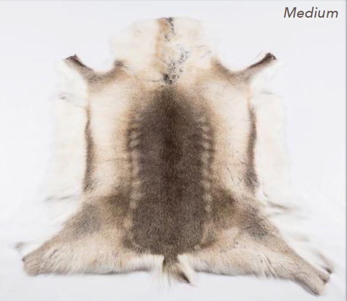 Premium Reindeer Hide Rug